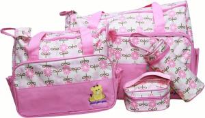 Kiwi Flower Print Combo Diaper Bag