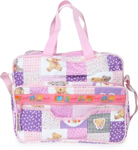 Bazaar Pirates Teddy Bear Print Mother's Diaper Cum Utility Bag