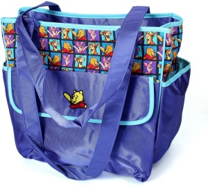 Baby Bucket Colorland Baby Changing With Teady Print Mummy Diaper Bag