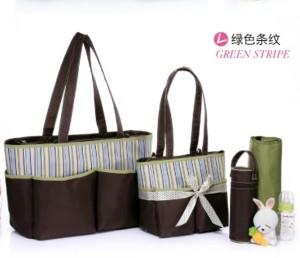 Colorland Jane Tote Baby 5 Piece Set- Mum Diaper Bag 5pcs Set