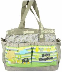 Wishkey Premiun Brown Large Printed Nursery Bag