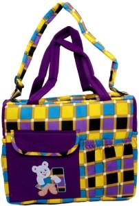 Kuber Industries Baby Multipurpose , Travelling , Carry , Multiple Pocket Diaper Baby Bag