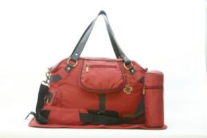 My Milestones Studio Messenger Diaper Bag