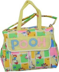 5cea7fb3f2 Kuber Industries Diaper Baby Bag , Nappy Changing Bag (POOH) Diaper Bag