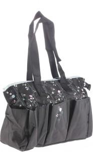 Lilsta Floral Tote Diaper Bag