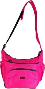Navigator SureDeal Diaper Changing Cum Utility Mothers Bag (Pink) (17 x 12 x 6