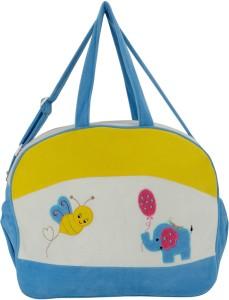 Littly Multipurpose Designer Velvet Mother Bag