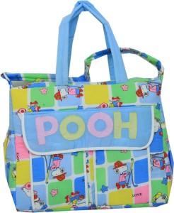 Kuber Industries Diaper Baby Bag , Nappy Changing Bag , Mamma's Bag (POOH) Nursery Bag