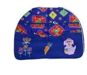 Glitter side folding Messenger Diaper Bag