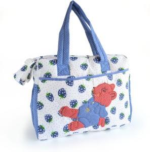 Duck Teddy Bear 1 Messenger Diaper Bag
