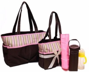 Baby Grow Colorland Jane Tote Baby Diaper Bag 5pcs Set