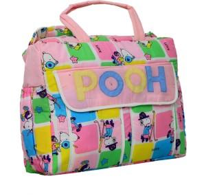 Kuber Industries Kuber Industries Diaper Baby Bag , Nappy Changing Bag , Mamma's Bag (POOH) Diaper Bag
