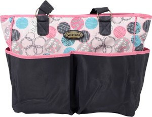 Colorland Multi Circle Print Tote Diaper Bag