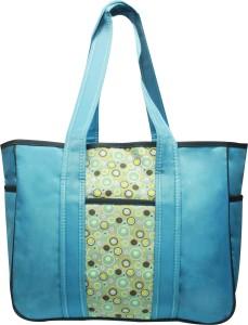 Kiwi Abstract Circle Prints Diaper Bag