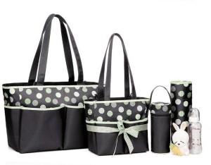 Colorland Amber Tote Changing Mother Bag Diaper Bag 5pcs Set