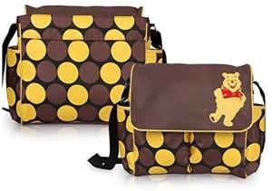 Baby Bucket Pooh print Multi Travel Langer Winnie the Diaper Bag