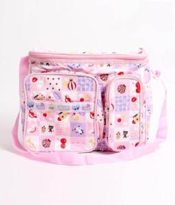 Walletsnbags Twin Pocket Messenger Diaper Bag