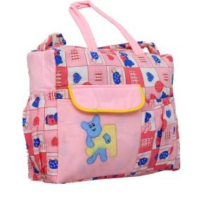 Kuber Industries Kuber Industries Diaper Baby Bag , Nappy Changing Bag , Mamma's Bag (Pink) Diaper Bag