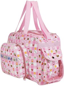 6bb9075cc7 Littly Multipurpose Waterproof Mother Bag Large Pink Best Price in ...