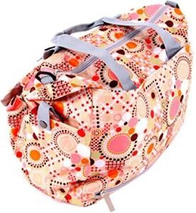 ILOVEBABY Polka Dot Deluxe Designer Diaper Tote Bag Tote Diaper Bag