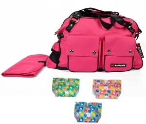 Kappsack Mama Bag with Changing Mat & Diapers diaper bag