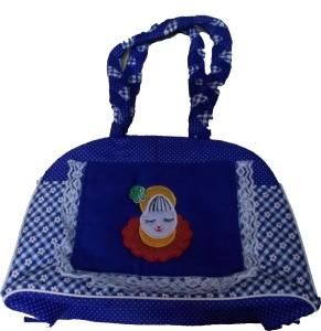 Glitter Palak Messenger Diaper Bag