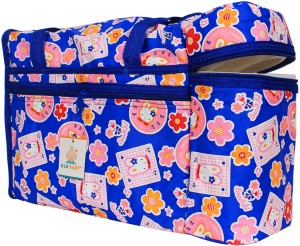 Ole Baby Bunny Flower Sticker Premium With Warmer Tote Diaper Bag