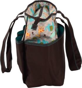 Colorland Animal Brown Tote Diaper Bag