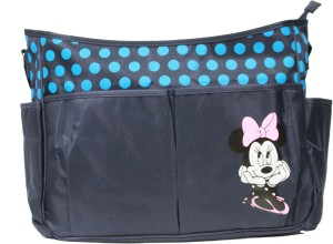 Kiwi Minnie Mouse Patch Shoulder Diaper Bag