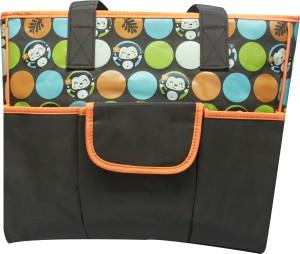 Kiwi Cute Monkey Print Diaper Bag