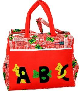 Kuber Industries Kuber Industries Diaper Baby Bag , Nappy Changing Bag , Mamma's Bag (ABC Print) Diaper Bag