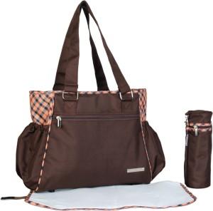 My Milestones Diaper Bag Diaper Bag Spectra- Brown Plaid