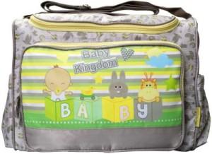 Wishkey Premium Brown Printed Nursery Bag