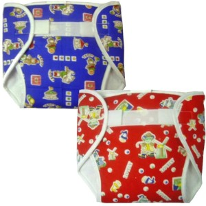 0c533d2ed31 Chhote Janab BABY Reusable Cotton Plastic Nappy Diapers With Extra Pad - M