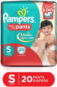 Pampers Baby Dry Pants - S