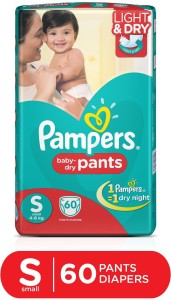 Pampers Pants Diapers Small Size 60 pc Pack - S
