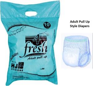 4 Fresh Adult Pull Up Diaper - M