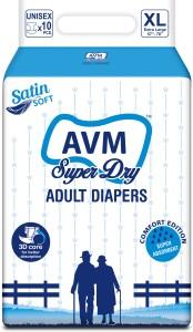 Avm Super Dry Adult Diapers Regular - L