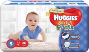 Huggies Ultra Soft Pants - S
