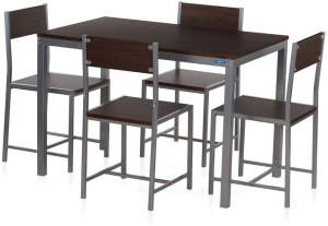 Nilkamal Wigo Metal 4 Seater Dining Set