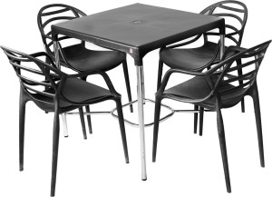 Cello Plastic 4 Seater Dining Set