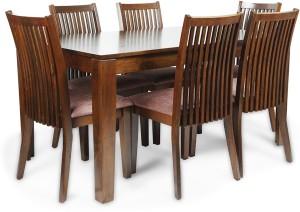 HomeTown Metro Solid Wood Dining Set