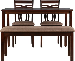HomeTown Stella Solid Wood 4 Seater Dining Set