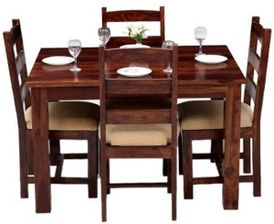 The Attic Solid Wood 4 Seater Dining Set