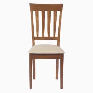 Godrej Interio ALICIA DINING CHAIR WALNUT Solid Wood Dining Chair