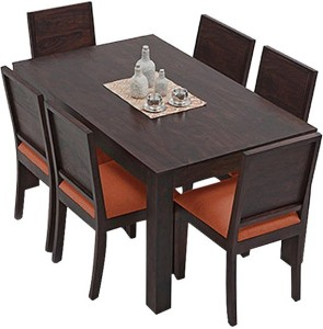 The Attic Solid Wood 6 Seater Dining Set