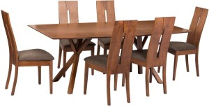 Parin Solid Wood 6 Seater Dining Set