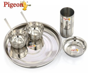Pigeon Pack of 7 Dinner Set