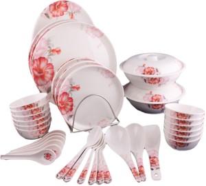 1d6d5e88ba68 Hi Luxe Dynasty Pack of 44 Dinner Set ( Melamine )
