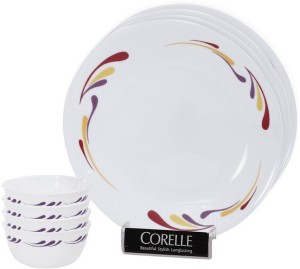 Corelle 8-CEL-DS Pack of 8 Dinner Set  sc 1 st  Buyhatke & Corelle 8 CEL DS Pack of 8 Dinner Set Glass Best Price in India ...
